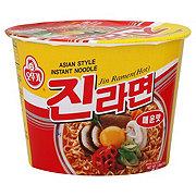 Ottogi Hot Jin Ramen Noodle Bowl