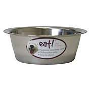 Our Pet's Eat! 2 Quart Stainless Steel Basic Bowl
