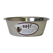 Our Pet's Eat! 5 Quart Stainless Steel Basic Bowl