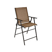 Outdoor Solutions Brown Balcony Sling Chair