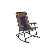 Outdoor Solutions Folding Rocker Navy Duo