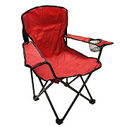 Outdoor Solutions Kids Red Folding Chair
