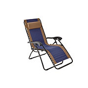 Outdoor Solutions Navy Duo Adjustable Relaxer Chair