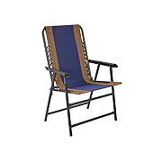 Outdoor Solutions Navy Duo Folding Chair