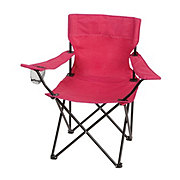 Outdoor Solutions Pink Low Back Arm Outdoor Chair