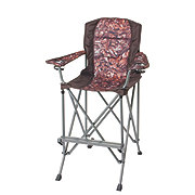 Outdoor Solutions Tall Boy Brown Camo Folding Chair