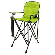 Outdoor Solutions Tall Boy Green Folding Chair