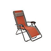 Outdoor Solutions Terra Cotta Duo Adjustable Relaxer Chair