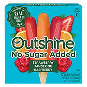 Outshine No Sugar Added Assorted Fruit Ice Bars