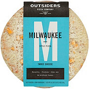 Outsiders Milwaukee Style Three Cheese Pizza