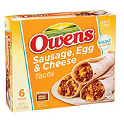 Owens Sausage Egg & Cheese Tacos
