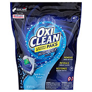 OxiClean Fresh Scent Laundry Detergent Paks