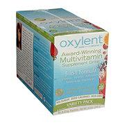 Oxylent Multivitamin Supplement Drink, Variety Pack