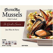 Oyster Bay Cooked Mussels with Garlic Sauce