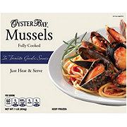Oyster Bay Cooked Mussels with Tomato Garlic Sauce