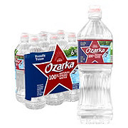 Ozarka 100% Natural Spring Sport Water 23.7 oz Bottles