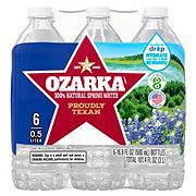 Ozarka 100% Natural Spring Water 16.9 oz Bottles