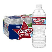 Ozarka 100% Natural Spring Water 16.9 oz Bottles