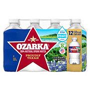 Ozarka Spring Water Go Size 12 oz Bottles