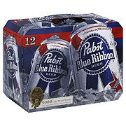 Pabst Blue Ribbon Beer 12 PK Cans