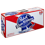 Pabst Blue Ribbon Beer 18 pk Cans