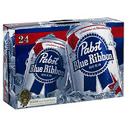 Pabst Blue Ribbon Beer 24 PK Cans