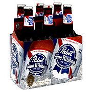 Pabst Blue Ribbon Beer 6 PK Bottles