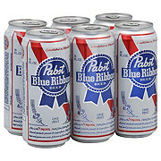 Pabst Blue Ribbon Beer 6 PK Cans