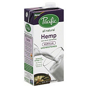 Pacific Foods Hemp Non-dairy Beverage Unsweetened Vanilla