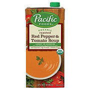 Pacific Foods Organic Light Sodium Roasted Red Pepper and Tomato Soup