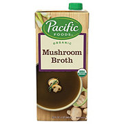Pacific Foods Organic Low Fat Mushroom Broth
