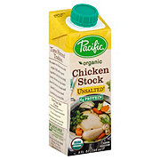 Pacific Foods Organic Unsalted Chicken Stock