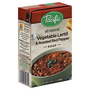 Pacific Foods Vegetable Lentil & Roasted Red Pepper Soup