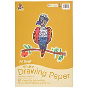 Pacon 12x8 in White Drawing Paper