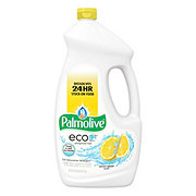 Palmolive Eco+ Lemon Splash Scent Dishwasher Detergent Gel