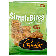 Pamela's Gluten Free Simple Bites Ginger Snapz Mini Cookies