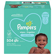 Pampers Baby Complete Clean Baby Wipes Scented
