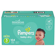Pampers Baby-Dry Diapers 104 ct