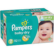 Pampers Baby-Dry Diapers 112 ct
