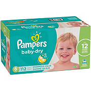 Pampers Baby Dry Diapers 112 ct