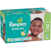 Pampers Baby Dry Diapers 132 ct