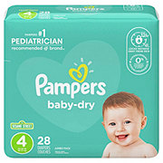 Pampers Baby-Dry Diapers 28 ct