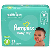 Pampers Baby-Dry Diapers 32 ct