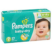 Pampers Baby-Dry Diapers 37 ct
