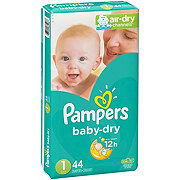 Pampers Baby-Dry Diapers 44 ct