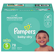 Pampers Baby-Dry Diapers 78 ct