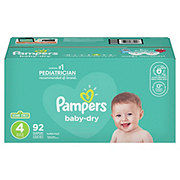 Pampers Baby-Dry Diapers 92 ct