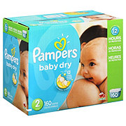 Pampers Baby Dry Sesame Street Giant Pack Diapers Size 2 (12-18 LBS)
