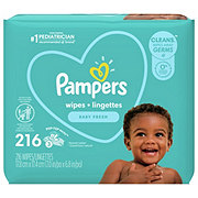 Pampers Complete Clean Baby Wipes Scented