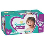 Pampers Cruisers Diapers 104 ct